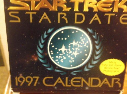 9780671001032: Star Trek Stardate 1997 Calendar