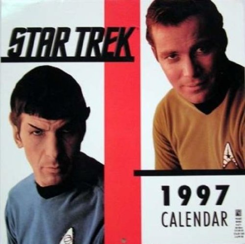 9780671001087: Star Trek Calendar: 1997 (Star Trek: Calendars)