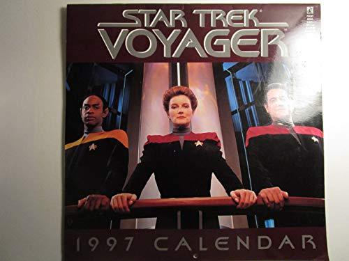 9780671001117: Star Trek Voyager Calendar: 1997 (Star Trek: Calendars)