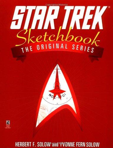 9780671002190: The Star Trek Sketchbook