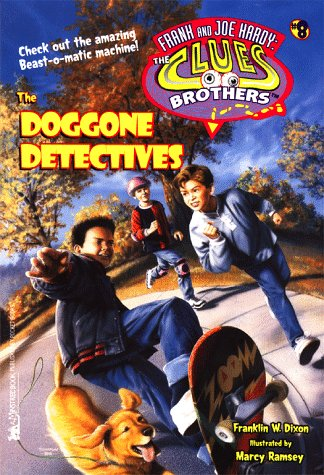 9780671004095: The Doggone Detectives Frank And Joe Hardy The Clues Brothers 8 (HARDY BOYS CLUES BROS.)