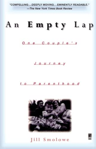 9780671004378: An Empty Lap: One Couple's Journey to Parenthood