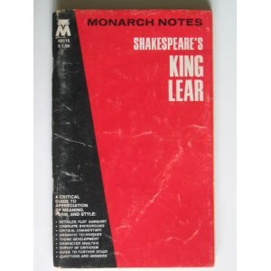 Monarch Notes: Shakespeare's King Lear (Monarch Notes & Study Guides)