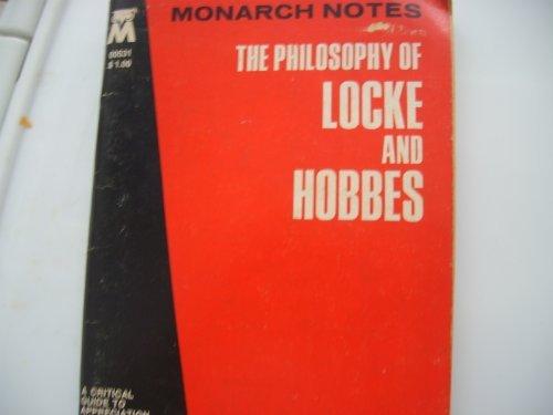 9780671005313: Philosophy of Locke and Hobbe