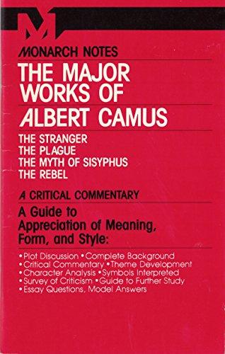 9780671005528: The Major Works of Albert Camus