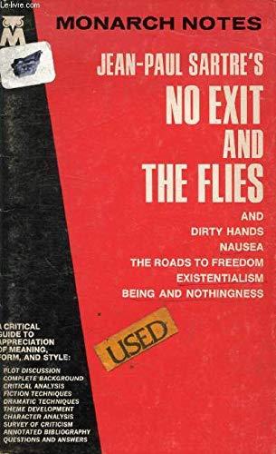 9780671005696: Jean Paul Sartres No Exit and the Flies