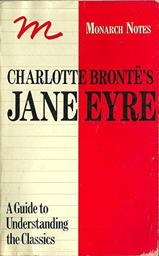 9780671006020: Charlotte Bronte's Jane Eyre (Monarch notes)