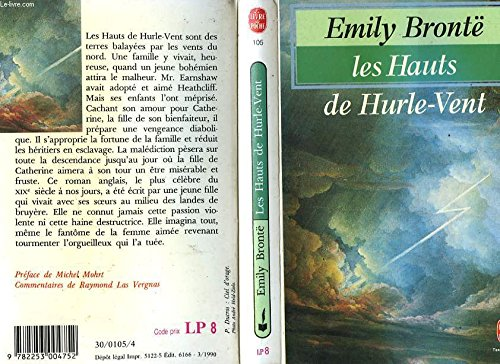 9780671006037: Emily Bronte's Wuthering Heights (Monarch Notes)