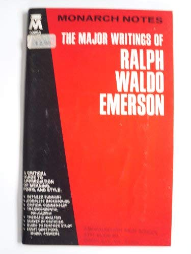 ralph waldo emerson abebooks major writings of ralph waldo emerson emerson ralph waldo