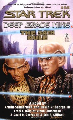 9780671007935: The 34th Rule (Star Trek: Deep Space Nine, No. 23)