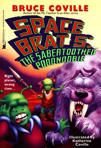 9780671008703: The Saber-Toothed Poodnoobie (Space Brat 5)