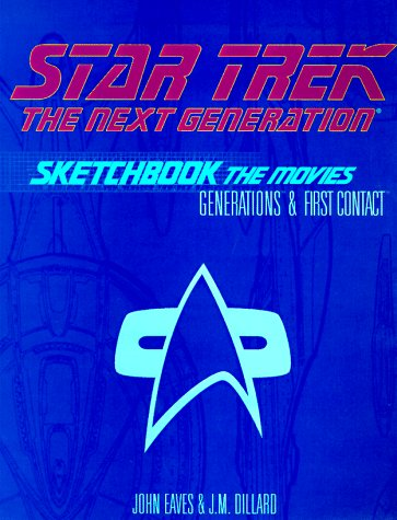 9780671008925: Star Trek, the Next Generation Sketchbook: The Movies, Generations & First Contact