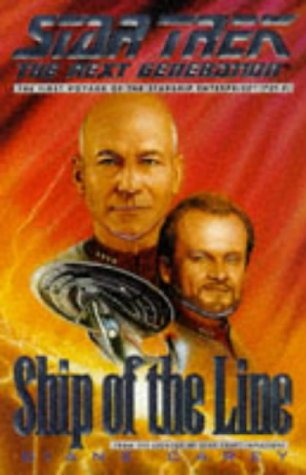 9780671009243: Ship of the Line (Star Trek: The Next Generation)