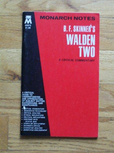 9780671009731: B.F. Skinner's Walden 2