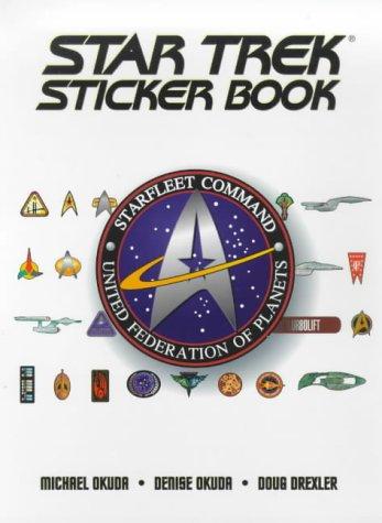9780671014728: The Star Trek Sticker Book