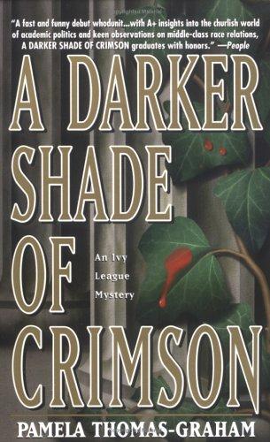 9780671016708: A Darker Shade Of Crimson (Ivy League Mysteries)