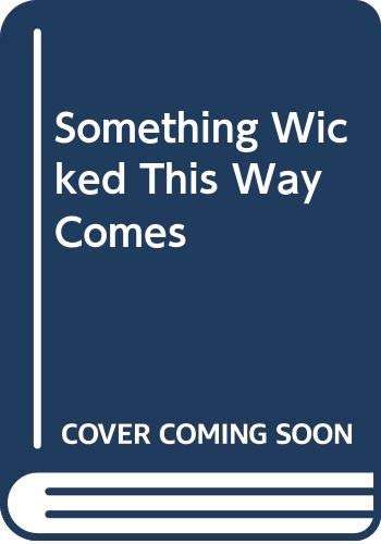 9780671017903: Something Wicked This Way Comes