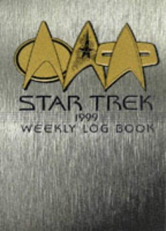 9780671023805 cal 99 star trek calendar weekly log book star