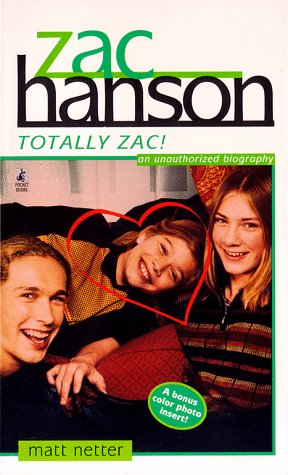 9780671024451: Zac Hanson Totally Zac
