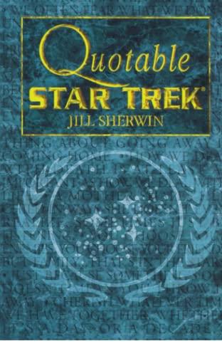 9780671024574: Star Trek: Quotable Star Trek