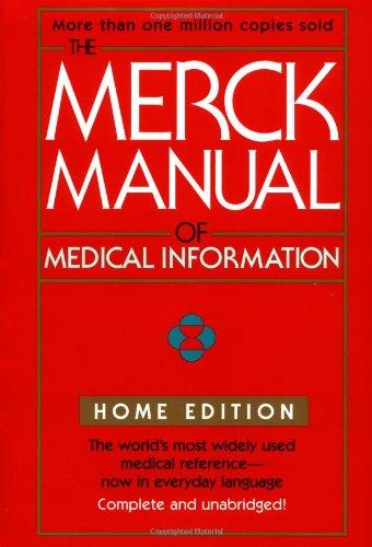 9780671027261: The Merck Manual of Medical Information (Merck Manual Home Health Handbook (Quality))