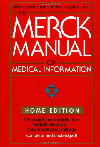 9780671027261: The Merck Manual of Medical Information (Merck Manual Home Health Handbook (Quality))