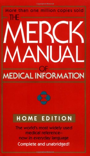 9780671027278: The Merck Manual Of Medical Information (Merck Manual of Medical Information, Home Ed.)