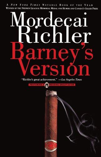 9780671028466: Barney's Version: A Novel