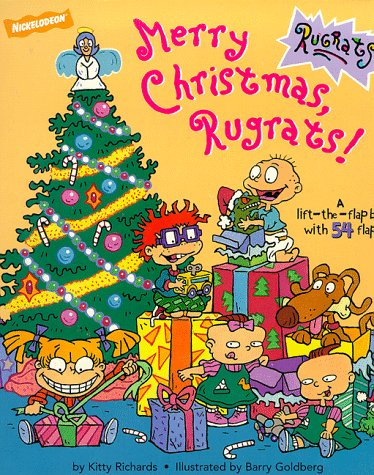 9780671029418: Merry Christmas Rugrats: Rugrats Christmas Lift the Flap