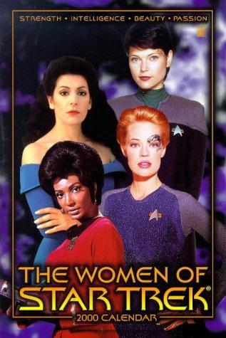 9780671032722: The Women of Star Trek 2000 Calendar