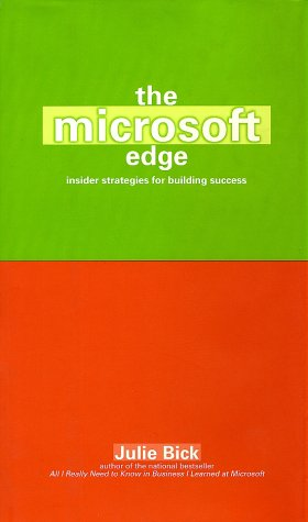 9780671034139: The Microsoft Edge: Inside Strategies for Building Success
