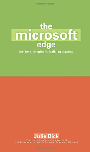 9780671034146: The Microsoft Edge: Insider Strategies for Building Success