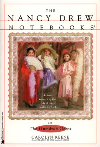9780671037093: The Gumdrop Ghost (Nancy Drew Notebooks #33)