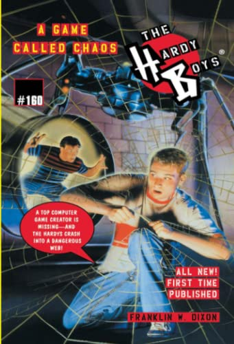 9780671038700: A Game Called Chaos (The Hardy Boys #160)