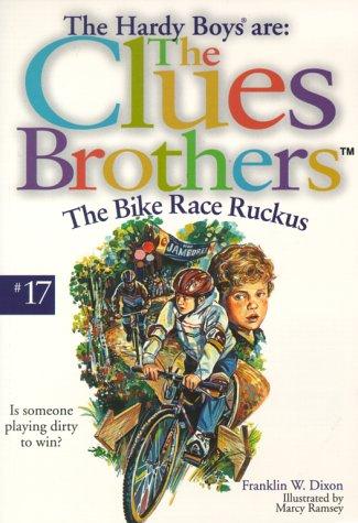 9780671040413: The Bike Race Ruckus (Clues Brothers)