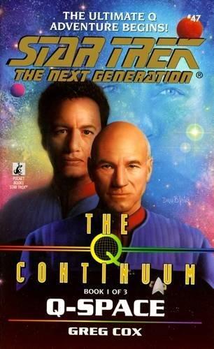 Star Trek Tng: Q-Space: Greg Cox