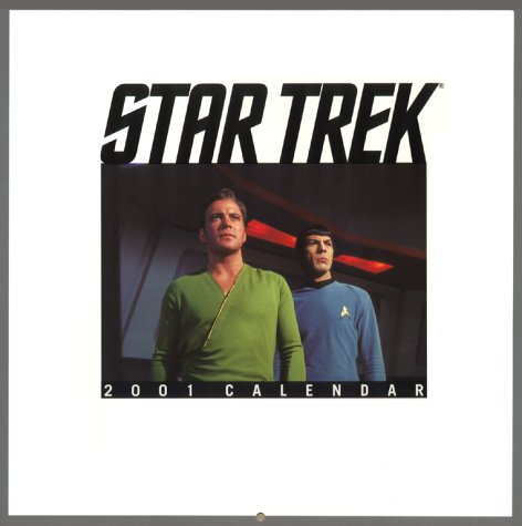 Star Trek 2001 Calendar (Star Trek: The Original Series): Trek, Star
