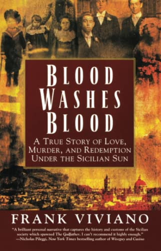9780671041595: Blood Washes Blood: A True Story of Love, Murder, and Redemption Under the Sicilian Sun