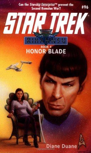9780671042103: Honor Blade (Star Trek, No 96/Rihannsu Book 4)