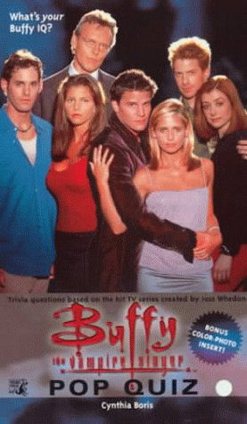 9780671042585: Buffy the Vampire Slayer: Pop Quiz