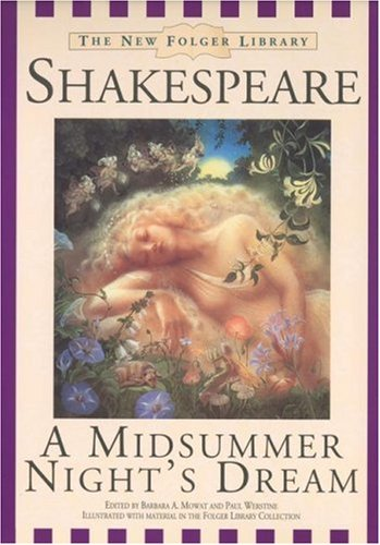 9780671042905: A Midsummer Nights Dream (New Folger Library Shakespeare)