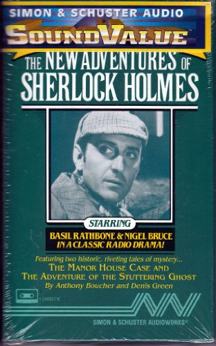 9780671043605: The New Adventures of Sherlock Holmes Vol. 20 CS: The Manor House Case and The Adventure of the Stuttering Ghost