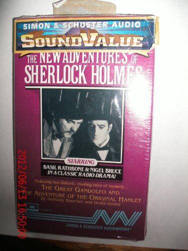 The New Adventures of Sherlock Holmes Vol. 21 CS: The Great Gandolfo and The Adventure of the Original Hamlet (0671043617) by Anthony Boucher; Denis Green
