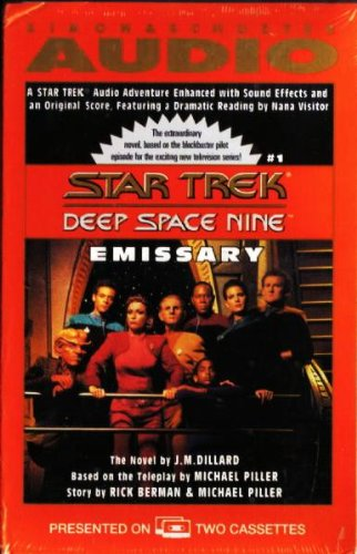 9780671044848: ST9: Emissary (Star Trek: Deep Space Nine)
