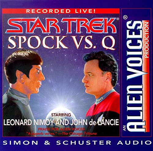 Spock Vs Q Cd (0671045830) by Leonard Nimoy; John de Lancie