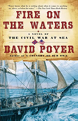 9780671046811: Fire on the Waters : A Novel of the Civil War at Sea
