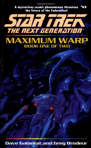 9780671047498: Maximum Warp Book One: Dead Zone (Star Trek The Next Generation, No 62)