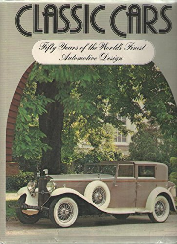 9780671051037: Classic Cars: 50 Years of the World's Finest Automotive Design (No. 05103)
