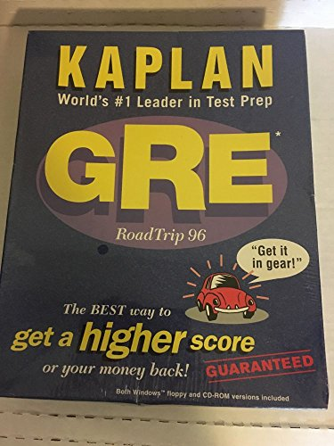 Gre Roadtrip 96 Cd & 3.5 Floppy C/3/Win/Ww: Simon, L. Schuster, Kaplan Test Prep...