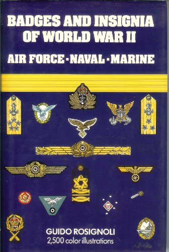 9780671060084: Badges and Insignia of World War II: Airforce Naval Marine